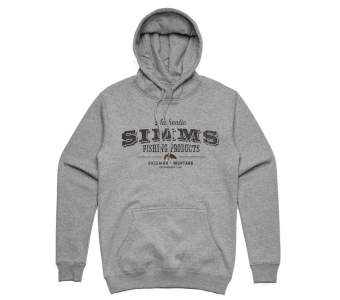 Simms Working Class Hoody, Grey Heather
