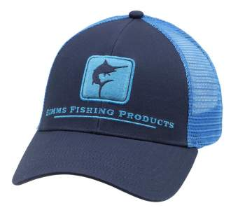 Simms Marlin Icon Trucker, Admiral Blue