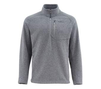 Simms Rivershed Sweater, Steel