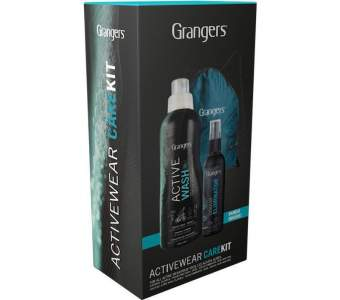 GRANGERS Active Wash, Odour Eliminator and Activewear Kit Bag