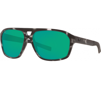 Costa Switchfoot, Green Mirror 580P, Ocearch Matte Tiger Shark Frame