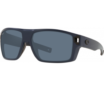 Costa Diego, Blue Mirror 580P, Matte Gray Frame