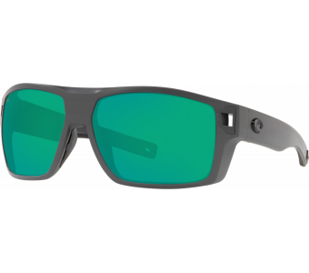Costa Diego, Green Mirror 580P, Matte Gray Frame