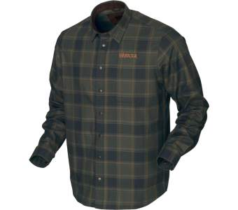 Harkila Metso Active Shirt, Willow Green Check