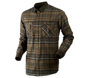 Harkila Pajala Shirt, Willow Green Check