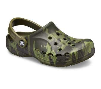 CROCS Baya Marbled Army Green-Multi