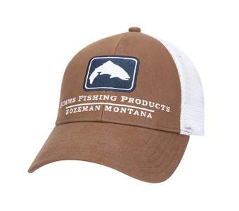 Simms Trout Icon Trucker, Mocha