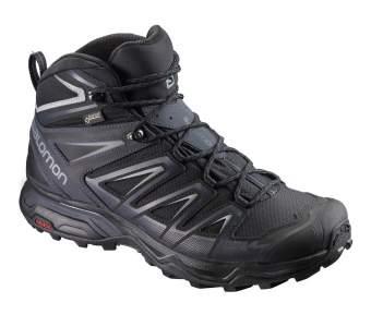 Salomon X ULTRA 3 MID GTX, Black-India Ink