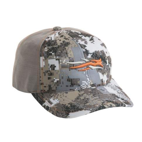 Бейсболка Sitka Stretch Fit Cap, Optifade Elevated SM
