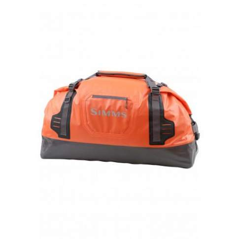 Simms Dry Creek Duffel Large, 130L, Bright Orange