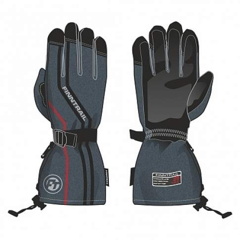 Finntrail DEER GLOVES 2601, Gray