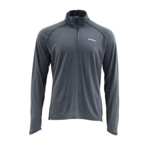 Simms Ultra-Wool Core 1-4 Zip, Raven