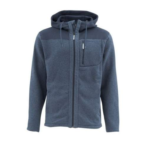 Simms Rivershed  Full Zip Hoody, Admiral Blue