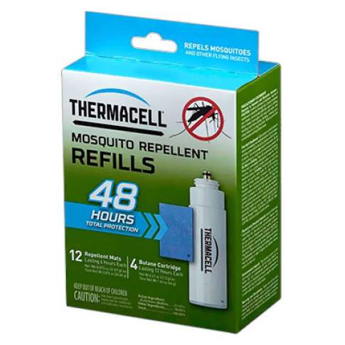ThermaCell REFILLS MR 400-12 (4 газовых картриджа + 12 пластин)