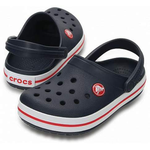 CROCS Crocband Clog K Navy-Red