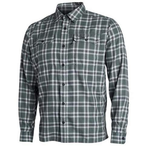 Sitka Frontier Shirt, Lead Plaid