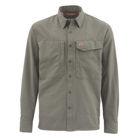 Simms Guide LS Shirt - Solid, Olive