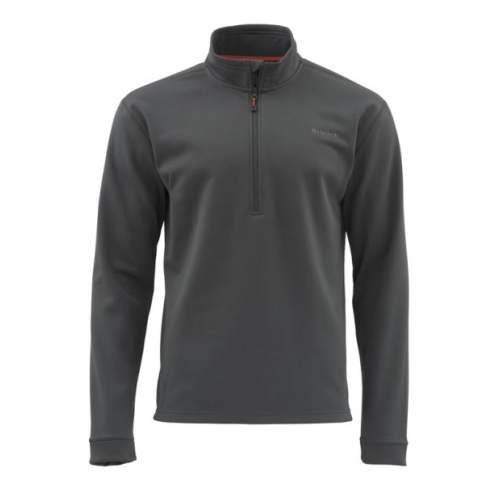 Simms Midweight Core Quarter-Zip, Carbon