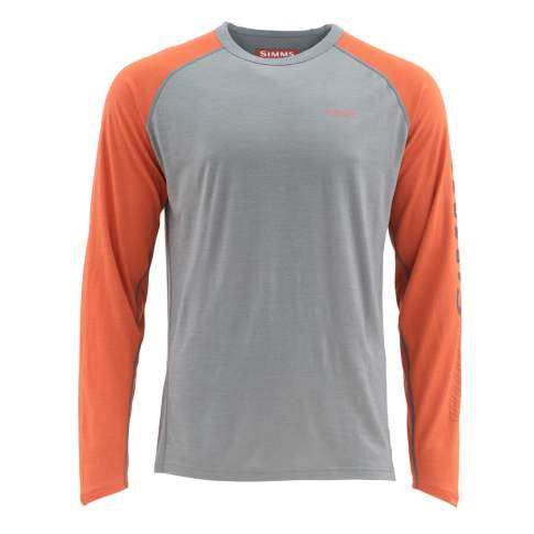 Simms Ultra-Wool Core Top, Simms Orange