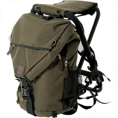 Harkila Bearhunter Rucksack Chair 25L, PU Coated Ribstop