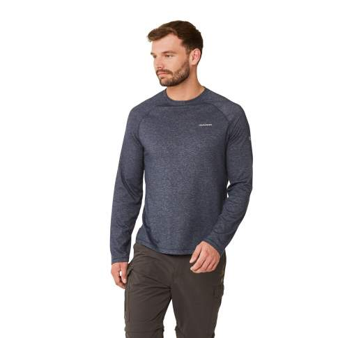 Craghoppers NosiLife Bayame LS Tee, Soft Navy Marl