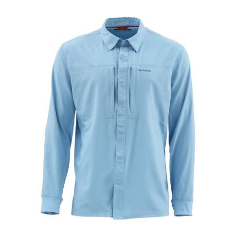 Simms Intruder BiComp Shirt '20, Faded Denim