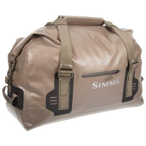 Simms Dry Creek Duffel Small, 60L, Tan