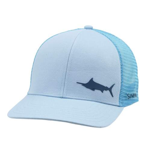 Simms Payoff Trucker - Marlin, Grey Blue