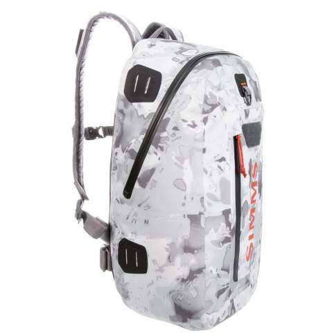 Simms Dry Creek Z Backpack 35L, Cloud Camo Grey