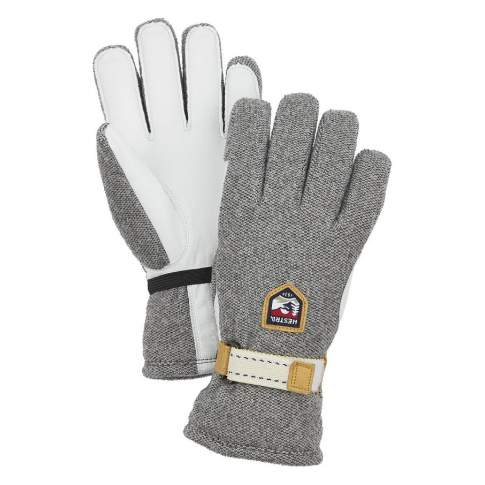 Hestra Windstopper Tour 5 Finger, Natural Grey