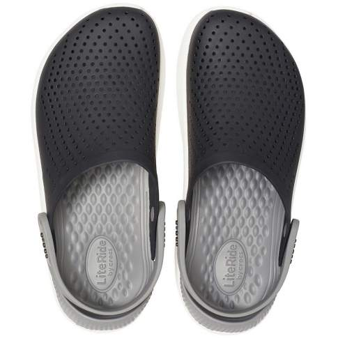 CROCS LiteRide Black-Smoke