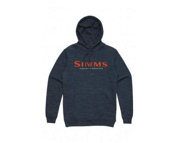 Толстовка Simms Logo Hoody, Navy Heather