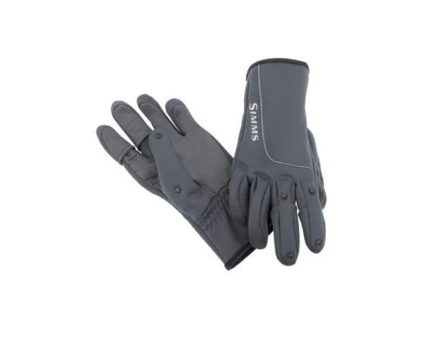 Перчатки Simms Guide Windbloc Flex Glove, Raven