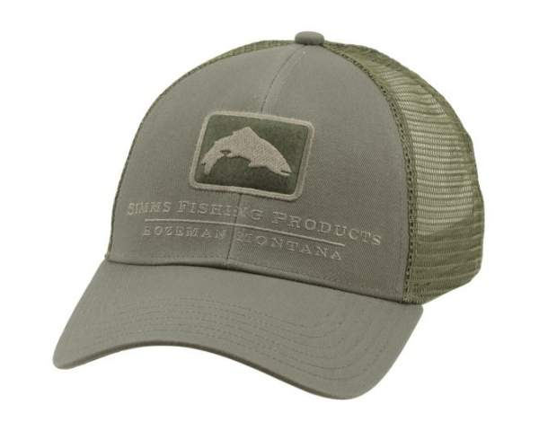 Кепка Simms Trout Icon Trucker, Tumbleweed 12226-261-00