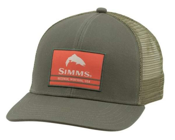 Кепка Simms Original Patch Trucker, Foliage 12677-300-00