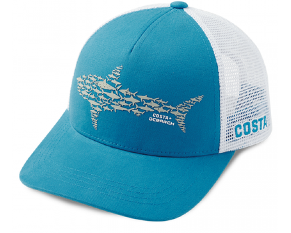 Кепка Costa Ocearch Huddle Trucker, Costa Blue HA 111