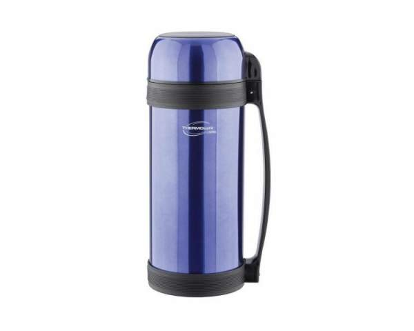 Термос с широким горлом ThermoCafe Lucky Vacuum Food Jar, Blue (2,0л) 918338