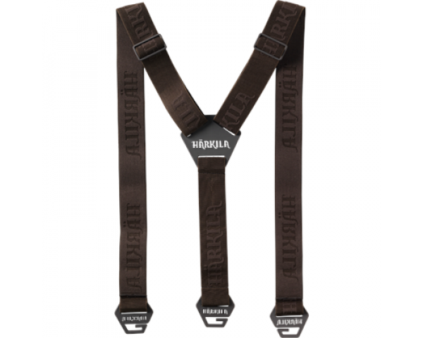Подтяжки Harkila Tech Braces, Willow Green-Shadow Brown 21010366399