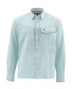 Рубашка Simms Guide LS Shirt, Light Teal