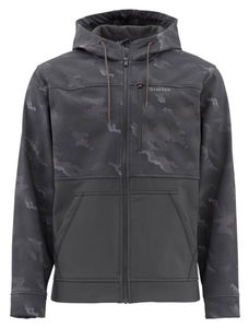 Simms Rogue Hoody, Hex Camo Carbon