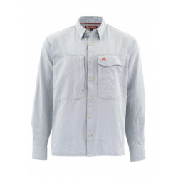 Рубашка Simms Guide LS Shirt, L, Dark Slate