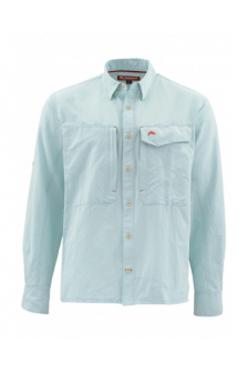 Рубашка Simms Guide LS Shirt, S, Light Teal